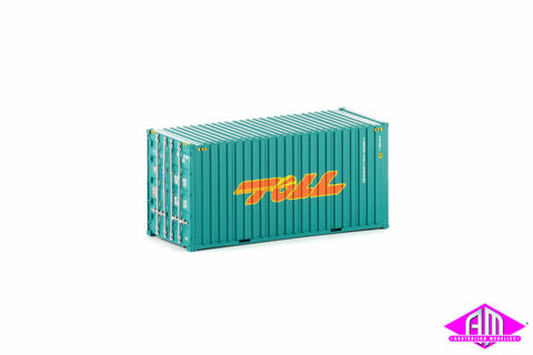20 Foot Hi-Cube Container Toll Green Twin Pack CON-6