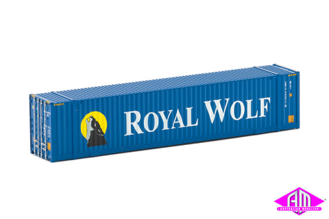 48' High Cube Container Royal Wolf large logos Twin Pack CON-72