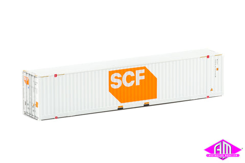 48' High Cube Container SCF white large logo Twin Pack CON-75