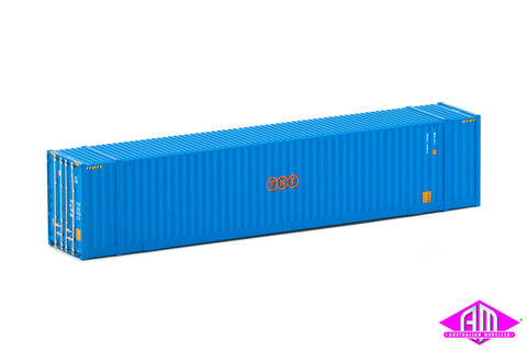 48' High Cube Container TNT blue Twin Pack CON-77