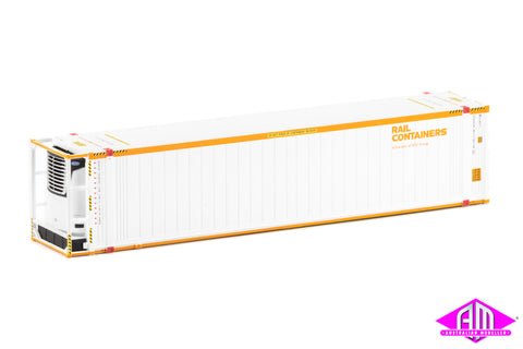 "46'6"" Reefer Container SCF V1 Rail Containers Twin Pack CON-89"
