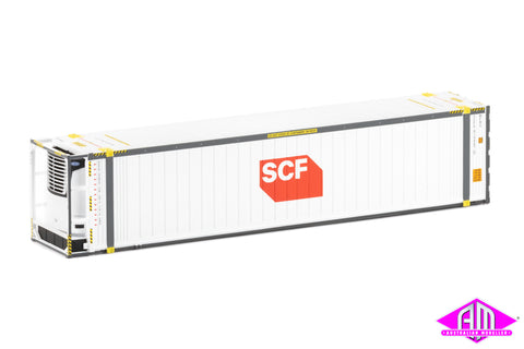"46'6"" Reefer Container SCF V4 Medium Red/White Logo Twin Pack CON-92"
