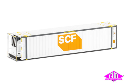 "46'6"" Reefer Container SCF V5 Large Orange/White Logo Twin Pack CON-93"