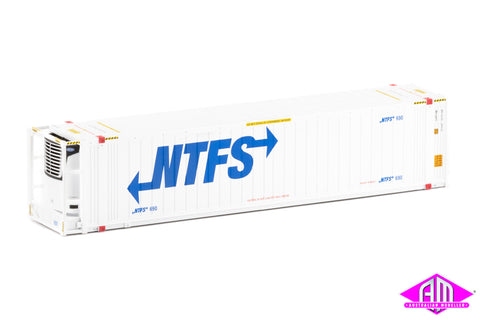 "46'6"" Reefer Container NTFS V1 Large Logo Twin Pack CON-94"