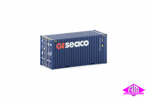 20 Foot Hi-Cube Container GE Seaco Large Logo Twin Pack CON-9