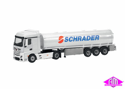 Mercedes Benz Actros with Tanker Trailer