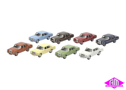 Mercedes Benz 8pc set