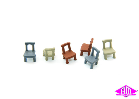 Open Back Chairs 6pc DP-194