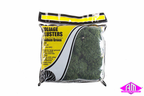 FC58 FOLIAGE CLUSTER - Medium Green 12