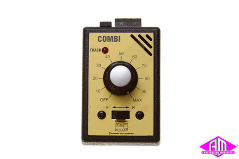 GAU-COMBI Model Railway Controller with 1.0 amp Transformer