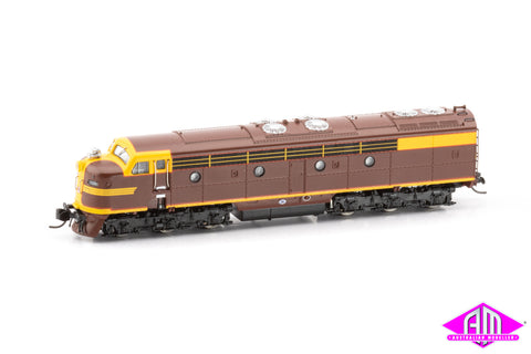 NSWGR 42 Class Locomotive Indian Red (N SCALE)