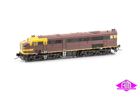 NSWGR 44 Class Locomotive Indian Red Austerity Mk1 (N SCALE)