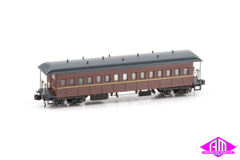 FO Passenger Cars IR Interurban Elliptical roof Late Twin Pack (N SCALE)