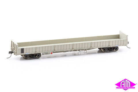 HWO Open Wagon QR Grey 1990s, 3 Wagon Pack (Pack 1 HO 16.5mm)