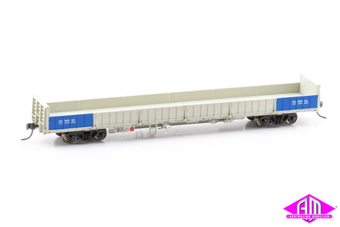 HWO Open Wagon Weathered QR Grey 2000s, 3 Wagon Pack (Pack 4 HO 16.5mm)
