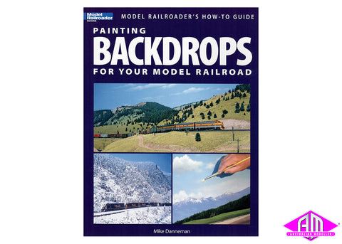 Painting Backdrops for your model railroads