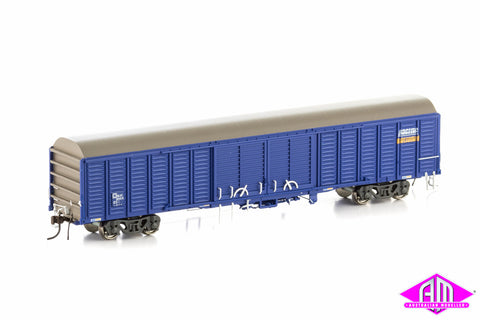 RLSY Louvered Van Pacific National Blue 4 Car Pack KLY-12