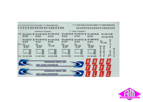 Refrigerated Freight Lines (small) decal LCD-18