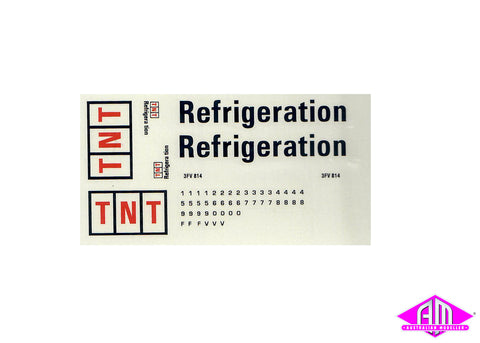 TNT Refrigeration decal LCD-2