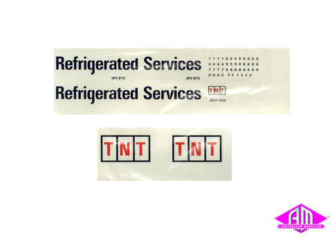 TNT Refrigerated services decal LCD-3