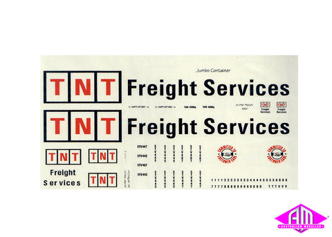 TNT Freight Service -3 large decal LCD-8