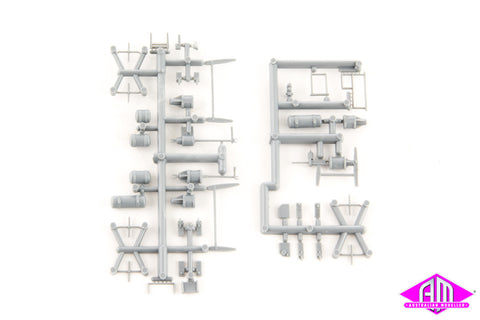 ARK-M102 Underbody Detail kit - 1 sprue