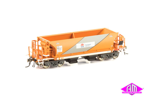 NDFF Ballast hopper Transport NSW (Orange & Silver) 4 car pack NBH-14