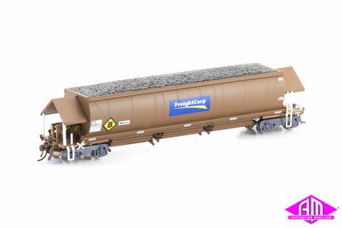 NHFF Coal Hopper FreightCorp Weathered Brown 6 car pack NCH-19