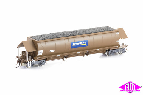 NHSH Coal Hopper FreightCorp Weathered Brown 6 car pack NCH-28