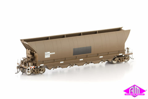NHRH Coal Hopper Pacific National, Weathered Brown, 7 Car Pack NCH-6
