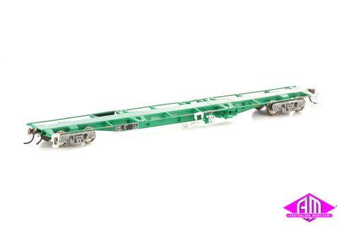 CQBY 60' Container Wagon 5-car pack (Mk 1 CFCLA green) NCW-12