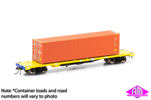 SQKF Container Wagon Single Car with 40' Container