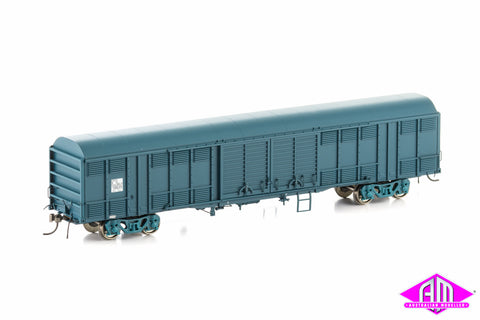 KLY Louvered Van State Rail PTC Blue 4 Car Pack NLV-4