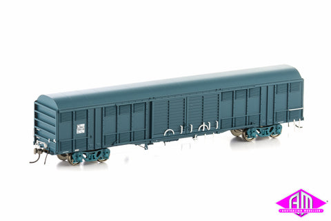 NLKY Louvered Van State Rail PTC Blue 4 Car Pack NLV-5