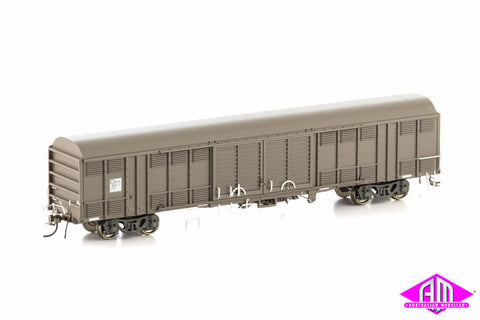 RLSY Louvered Van PN, Weathered Grey & Sadleirs Mixed 4 Car Pack NLV-9