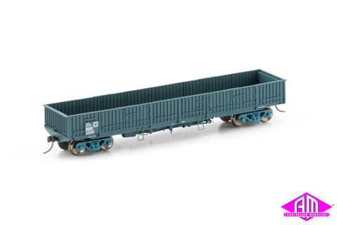 NOBX Open Wagon, PTC Blue - 4 Car Pack  NOW-13