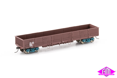 NOBX Open Wagon, SRA Red - 4 Car Pack NOW-15