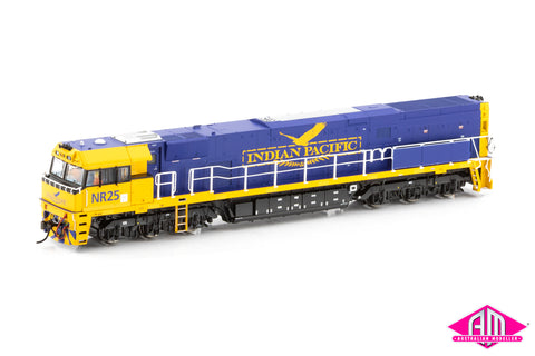 NR Class locomotive NR25 Indian Pacific® (MK3) - Blue & Yellow (NR-18)