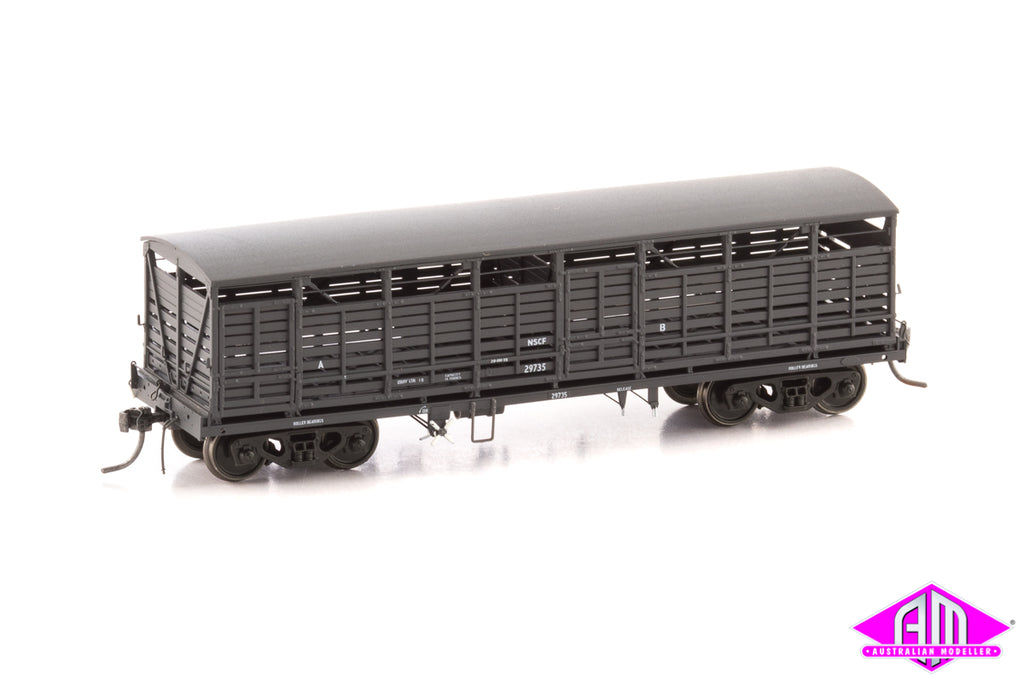 SDS NSCF CATTLE  WAGON WEATHERED