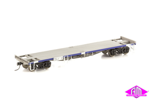 RKLY Coil Steel Container Wagon, Pacific National Grime & Blue, 4 Car Pack NSW-16