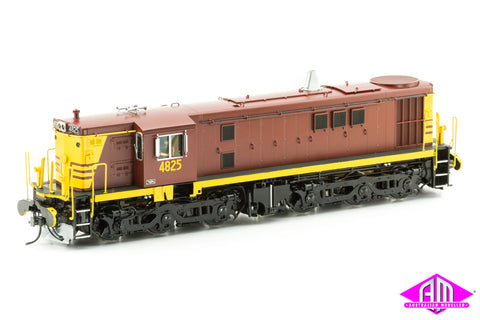 O Scale 48 Class 4825 Reverse with Coat of Arms, single marker lights & buffers O48-4