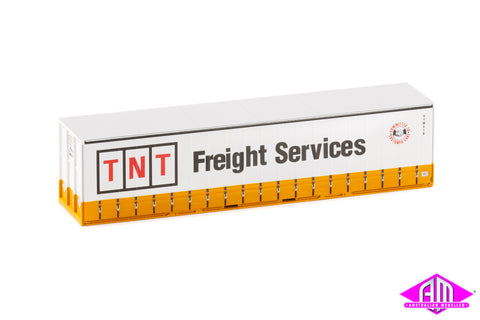 40' Curtain Side Container TNT Freight Services twin pack 40CS-11