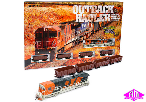Outback Hauler Train Set with GE Dash-8 C-F Locomotive