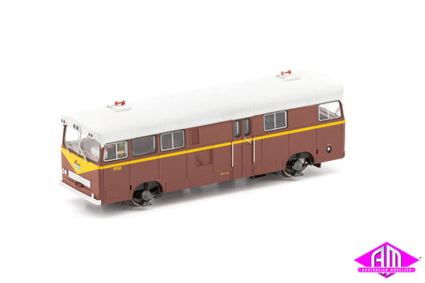NSWGR Pay-Bus FP10, Indian Red with Large Black & Blue L7 PB-7