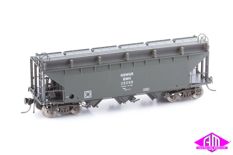 BWH NSWGR Bogie Wheat Hopper 29298 Single Car