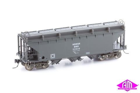 BWH NSWGR Bogie Wheat Hopper 32638 Single Car