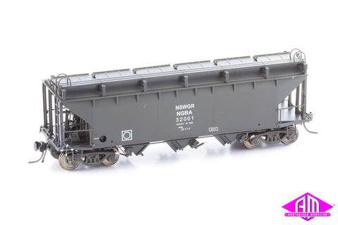 NGBA SRA Bogie Wheat Hopper 32001 Single Car