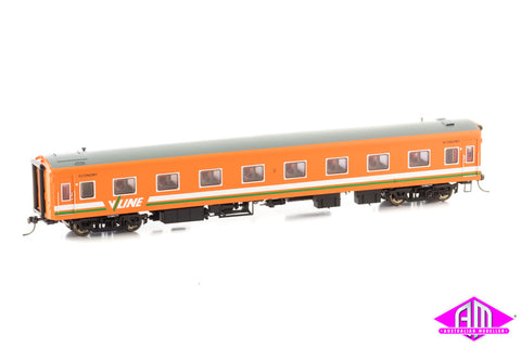 Victorian 'S' Carriage V/Line Tang (Grn-Wht) 213BS Single Car PC-455A