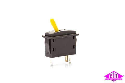 PL-26Y Point Motor Switch Yellow