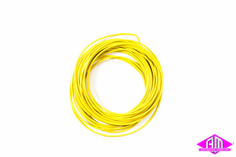 PL-38Y Yellow 3amp 16 Strand Wire (7.5m)